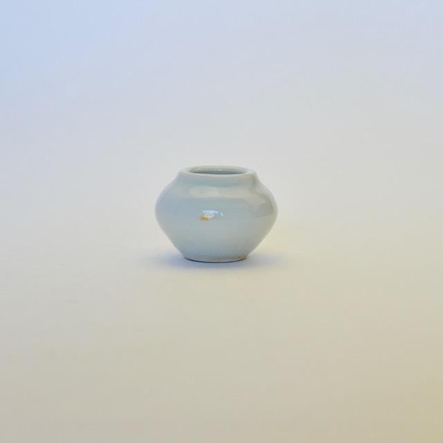 中里隆 アンダーソンラン 白磁つぼつぼ 【茶道具】
