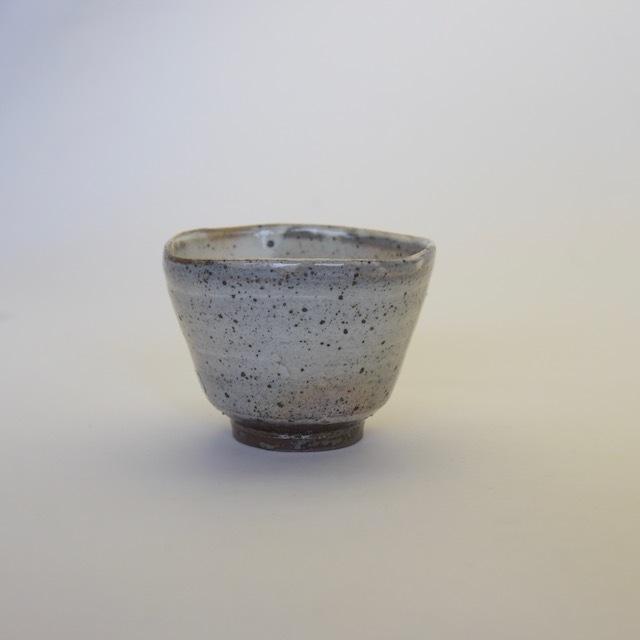 中里隆 唐津粉引四方小鉢