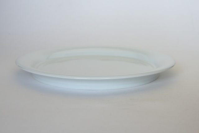 中里隆 日常のうつわシリーズ プレートL 【平皿】【白磁器】