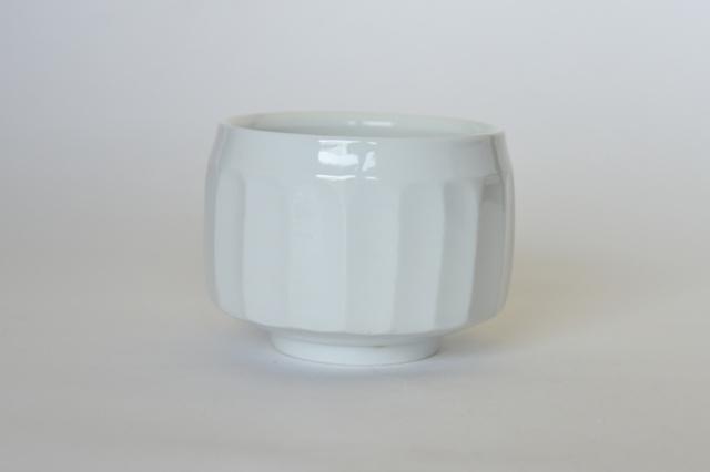 中里隆 日常のうつわシリーズ 面取碗 【小鉢】【白磁器】