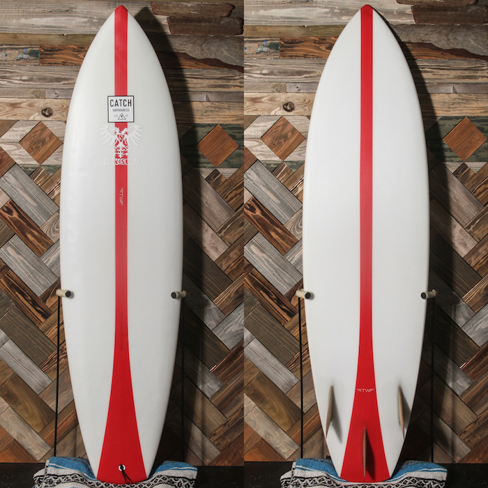 "【中古優良品】 TYLER WARREN RED LINE 6'5"" x 19-5/8 x 2-5/8""  【商品グレード】★★★☆☆"