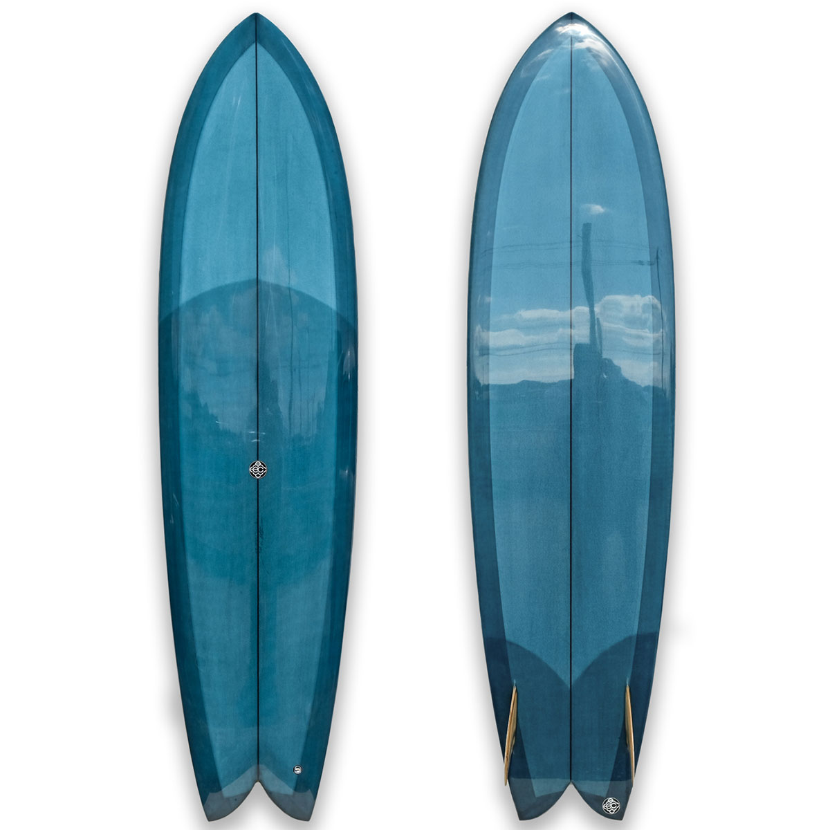 "【新品ストック】EC SURFBOARDS / Millennium Falcon 7'3"" x 22"" x 3"" No.20200322_2"