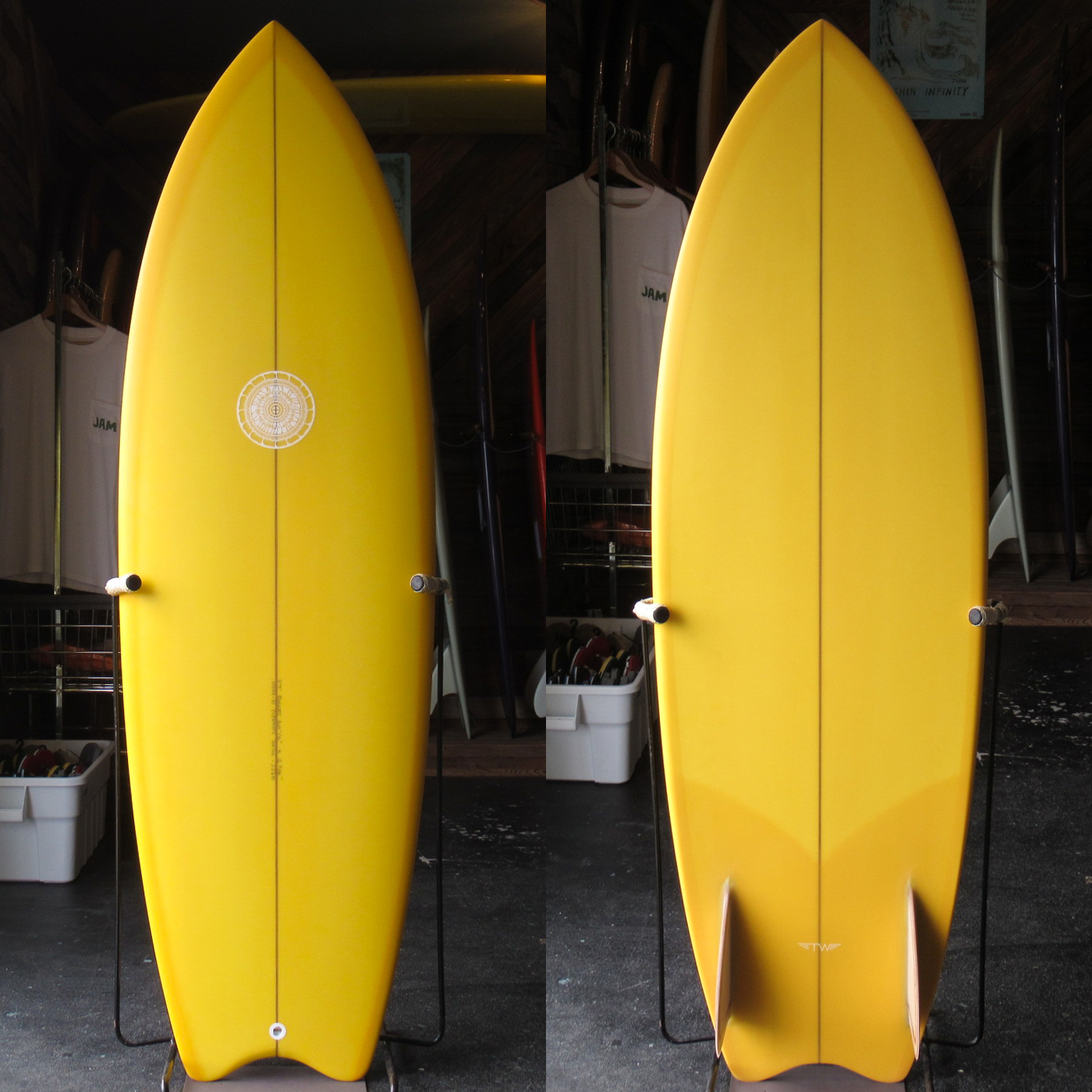 "【新品ストック】 TYLER WARREN / BULLET 5'7"" x 20 1/2""  x 2-5/8"" No.20201003_1"