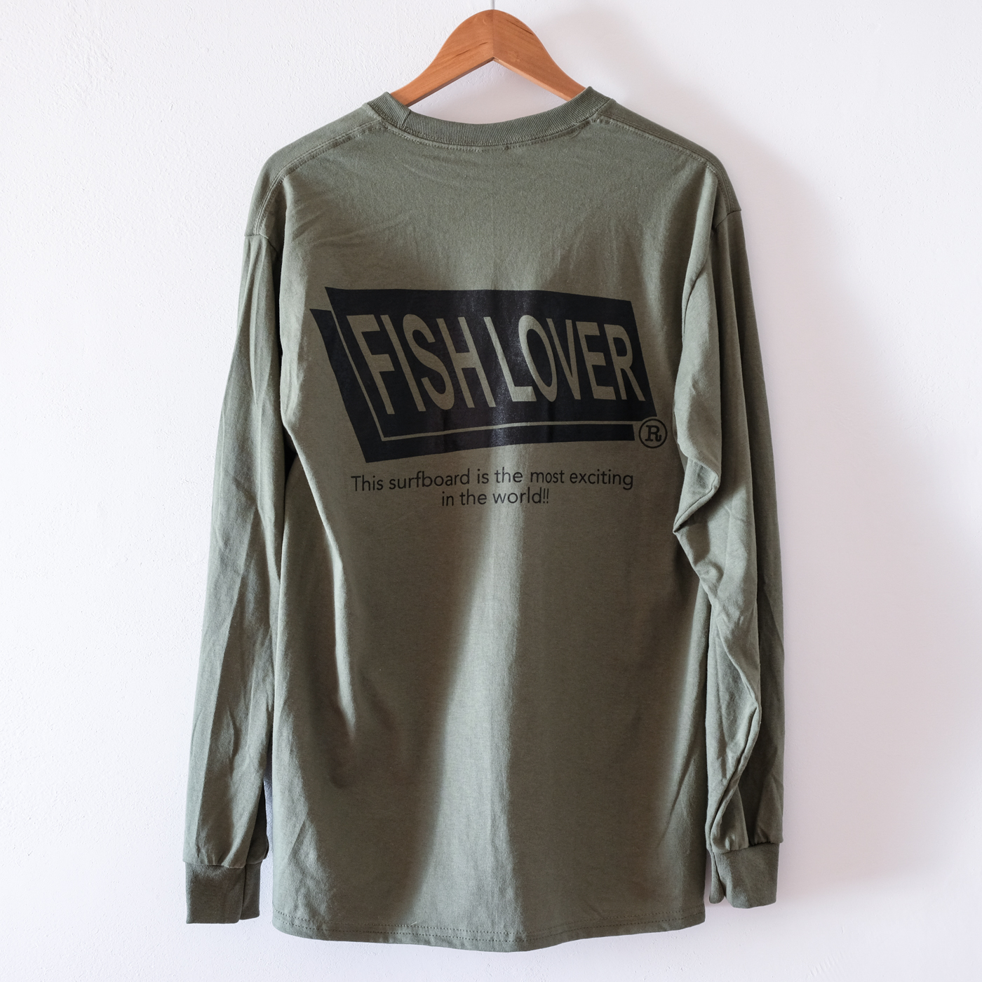 FISH LOVER(オサカナフェスティバル)6.0oz L/S Tee ULTRA COTTON