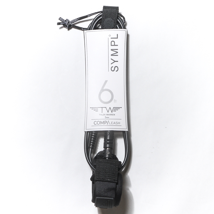 【SYMPL°】TYLER WARREN SURF LEASH 6ft COMP