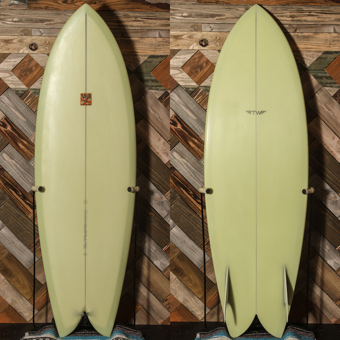 "【中古優良品】 TYLER WARREN DREAM FISH 5'7"" x 20-1/2"" x 2-3/8""  【商品グレード】★★★☆☆ No.k73"