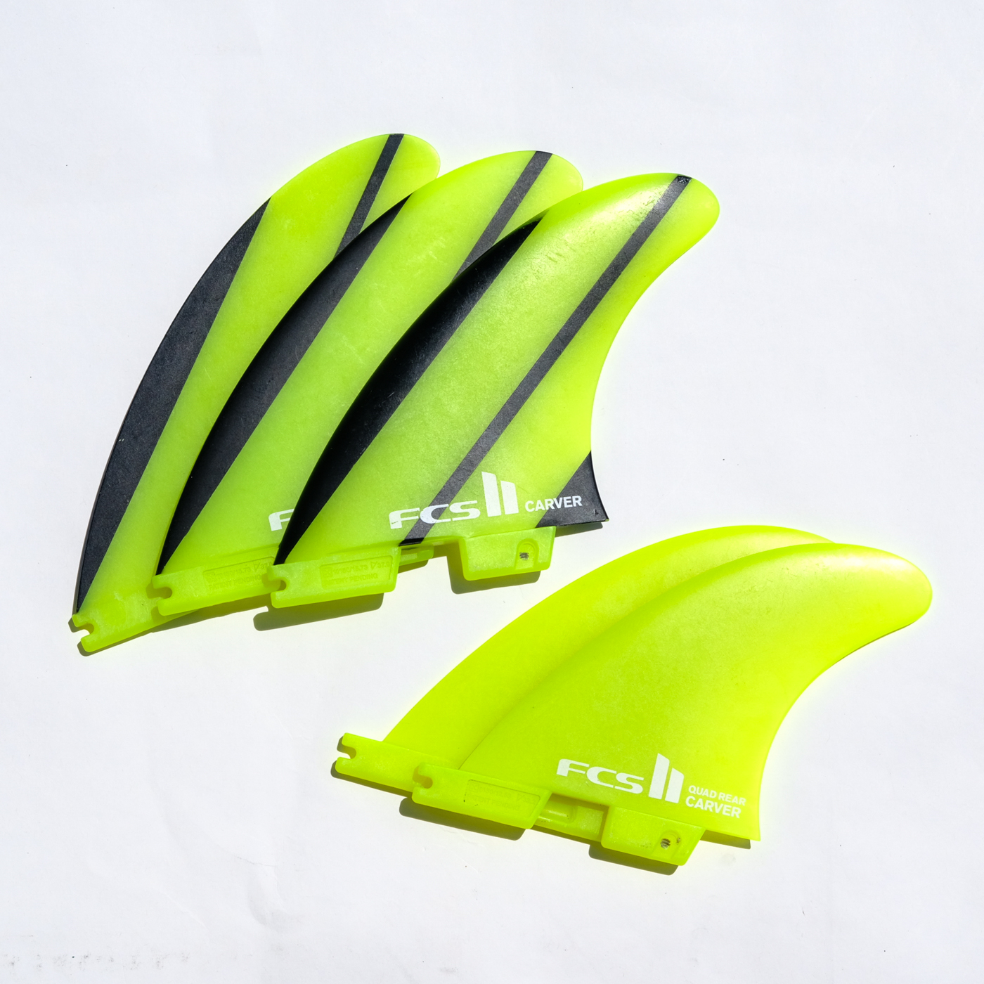 【中古品 FCSII CARVER LARGE & CARVER QUAD REAR】 No.kf030