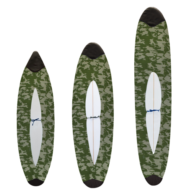 "【TLS】 knit case EASY STYLE 5'8""、7'0"" Green Camo"