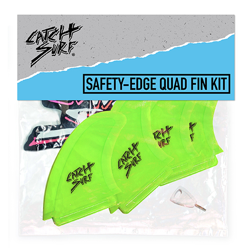CATCH SURF ― SAFETY-EDGE QUAD FIN