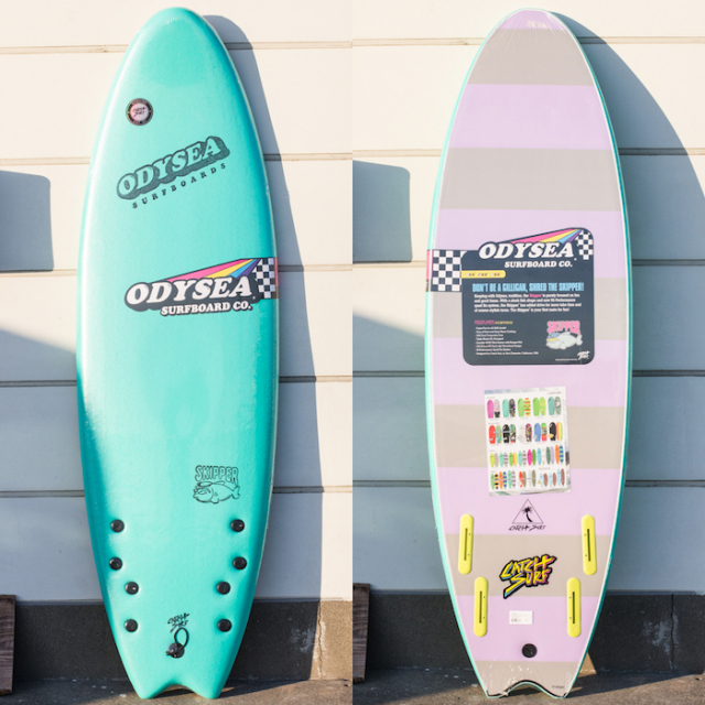 "【アウトレット】 CATCHSURF ODYSEA SKIPPER FISH 6'0"" Turquoise / Purple×Grey Stripe 【商品グレード】★★★★★"