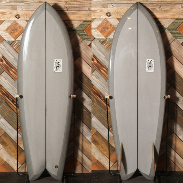 "【新品ストック】EC SURFBOARDS Evil Twin 5'4"" x 20-1/2"" x 2-1/2"" No.20181210_5"