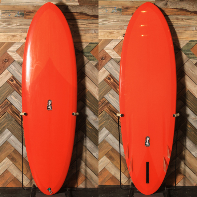 "【中古極上品】 EC SURFBOARDS / Freeride Fonzer 6'0"" x 20-7/8"" x 2-1/2"" 【商品グレード】★★★★☆ No.20190318_2"