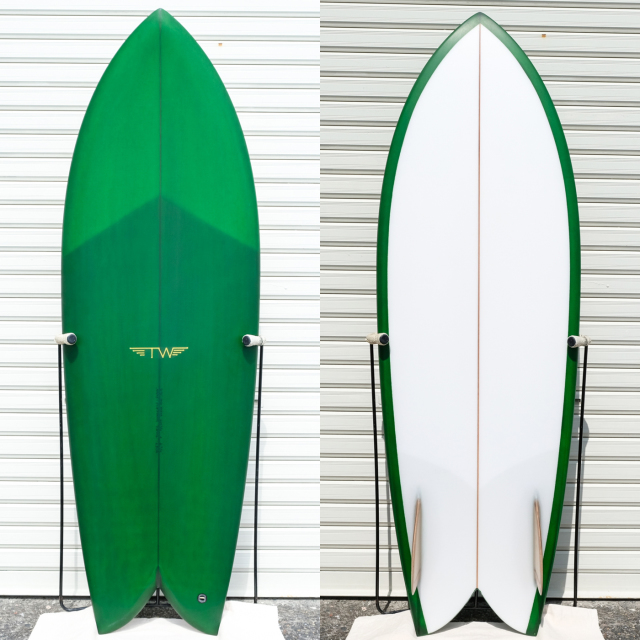 "【新品ストック】TYLER WARREN / OG FISH 5'5"" x 20-3/4"" x 2-3/4"" No.20200315_1"