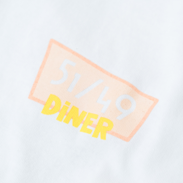 Birds'n'Birds 【51/49 DINER】 6.0oz L/S(WHITE)