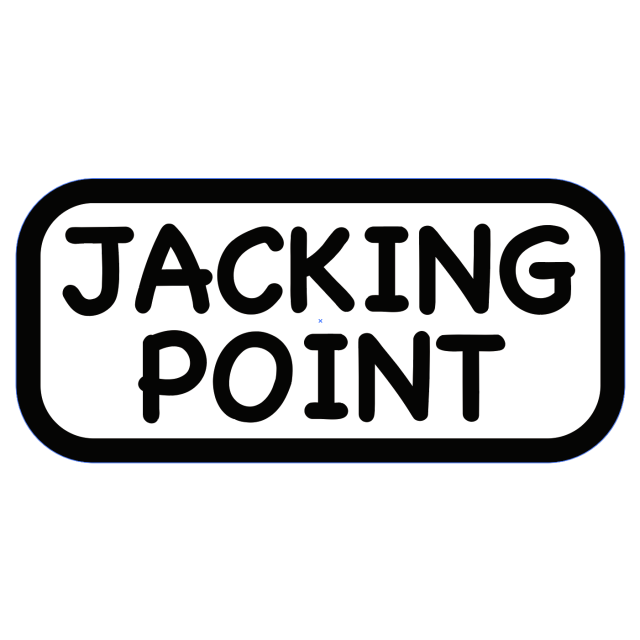 Birds'n'Birds 【JACKING POINT】 STICKER(ステッカー)