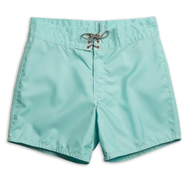 "【正規取扱店】BIRDWELL #310(14.5~18"" length) BEACH BRITCHES SHORTS 「AQUA」"