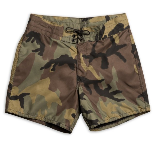 "【正規取扱店】BIRDWELL #310(14.5~18"" length) BEACH BRITCHES SHORTS 「CAMO」"