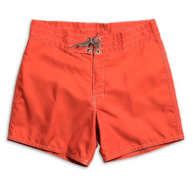 "【正規取扱店】BIRDWELL #310(14.5~18"" length) BEACH BRITCHES SHORTS 「ORANGE」"
