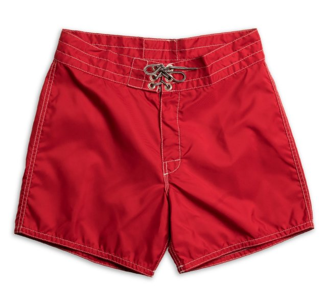 "【正規取扱店】BIRDWELL #310(14.5~18"" length) BEACH BRITCHES SHORTS 「RED」"