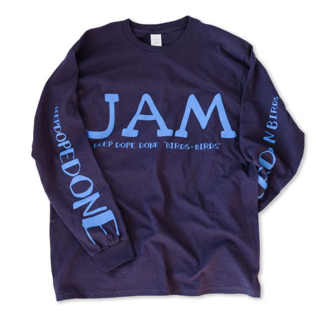 Birds'n'Birds 【JAM L/S Tee】[6.0oz ULTRA COTTON]
