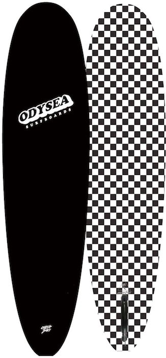 "【即納可能・特典あり】ODYSEA PLANK 7'0"" EARLY18' Black/BW Checker"