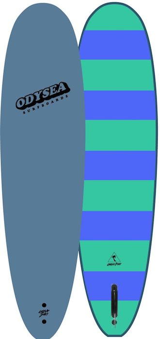 "【即納可能・特典あり】ODYSEA PLANK 7'0"" EARLY18' Blue Steel/Blue Stripe"