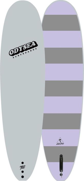 "【即納可能・特典あり】ODYSEA PLANK 7'0"" EARLY18' Off White/Grey Stripe"