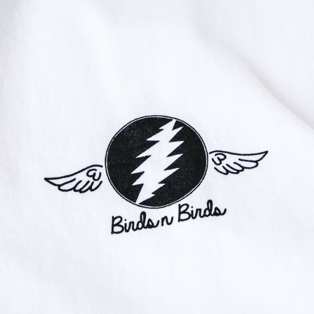Birds'n'Birds【	Lightning-Wing-Tee】LOS ANGELES APPAREL-8.5oz
