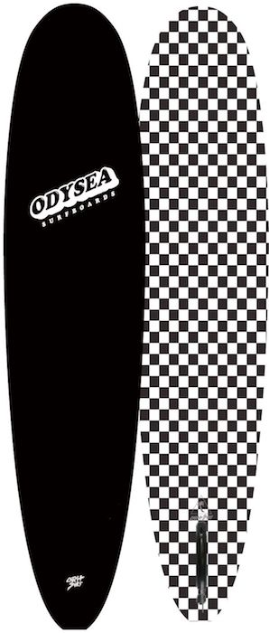 "【即納可能・特典あり】ODYSEA PLANK 8'0"" EARLY18' Black/BW Checker"