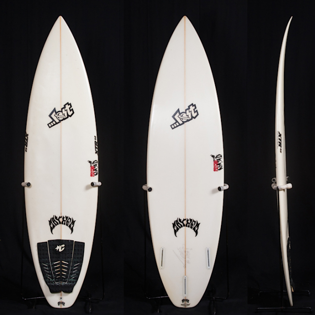 "【中古優良品】LOST PSYCHOWARD 6'0"" x 18-1/2"" x 2-1/4"" FUTURE 3フィン XTR 5.C C-1135 【商品グレード】★★★☆☆"