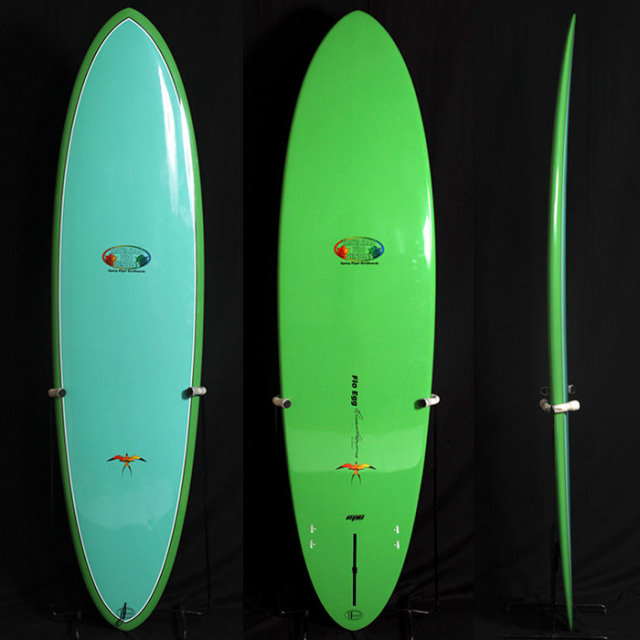 "【中古極上品】HAWAIIAN PRO DESIGNS  FLOW EGG 6'8"" x 20"" x 2-5/8"" C-1261 【商品グレード】★★★★☆"