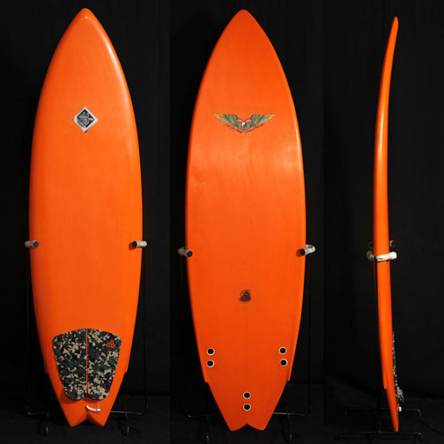 "【中古優良品】DVS Single Wing Swallow 5'10"" x 19-3/4"" x 2-1/4"" C-1271 【商品グレード】★★★☆☆"
