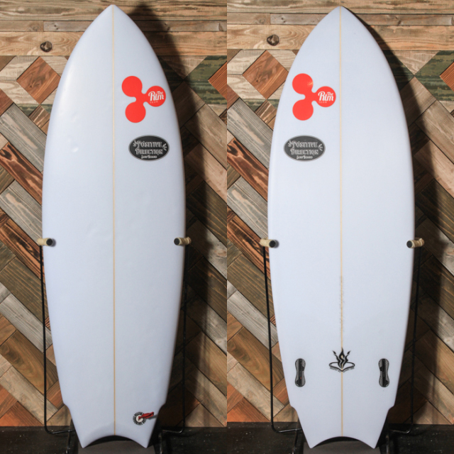 "【中古優良品】 POSITIVE DIRECTION/DA FISH 5'5"" x 20-7/8"" x 2-5/8""  【商品グレード】★★★☆☆ No.c1540"