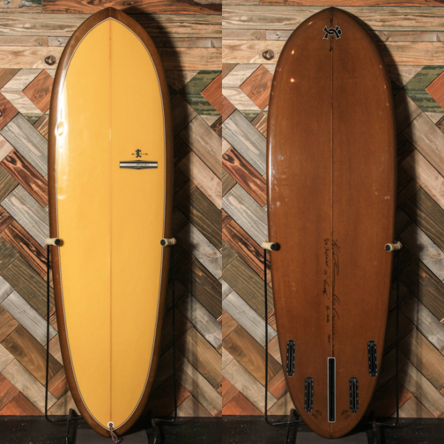 "【中古優良品】 YU SURFBOARDS/KEVIN CONNELY SHAPE 5'7"" x 19 5/8"" x 2-3/8""  【商品グレード】★★★☆☆ No.c1543"