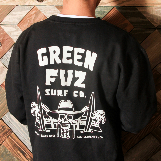 【Green Fuz】Surfin Dead Crew sweat