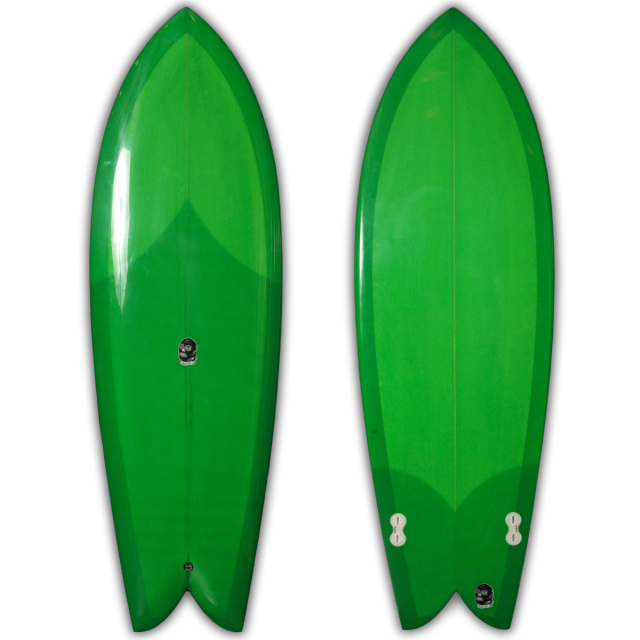 "【新品ストック】EC SURFBOARDS Evil Twin 5'7"" x 21"" x 2-7/16"" No.20180909_ec_02"