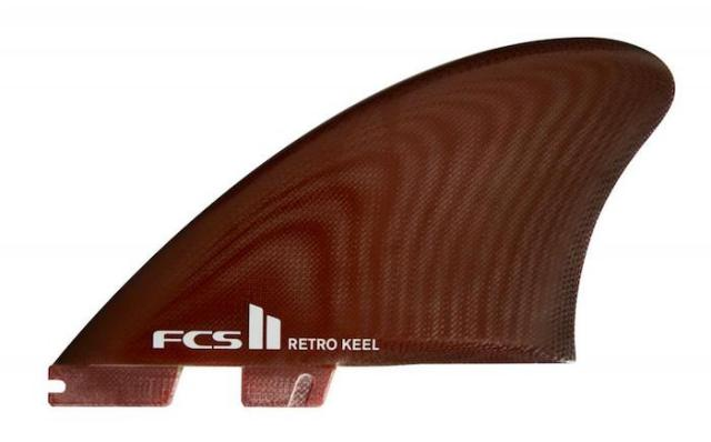 FCSII RETRO KEEL TWIN