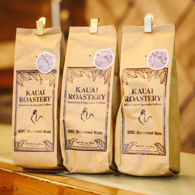 KAUAI ROASTERY COFFEE (227g) KRC Buttered Rum ※お一人さま一点限り