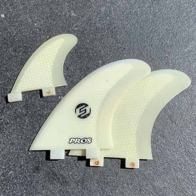 中古品 NAKISURF ORIGINAL(TWIN + STABI) FCS No.kf010