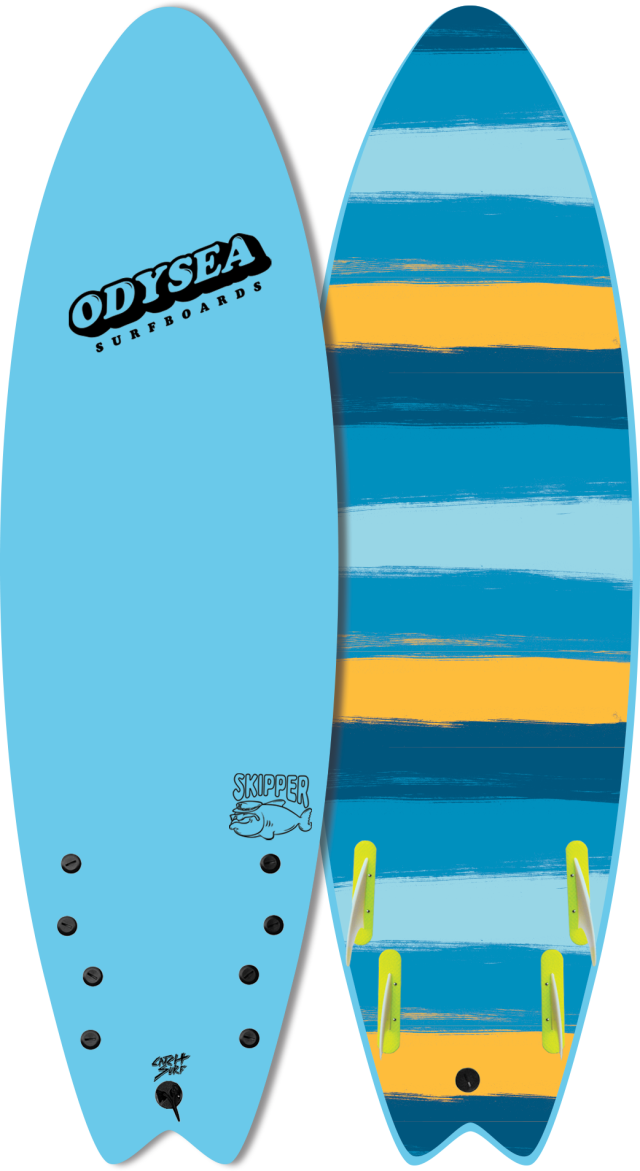 "【送料無料】2020 CATCH SURF ODYSEA SKIPPER FISH 6'0"" COOL BLUE ※即納可能な千葉在庫"