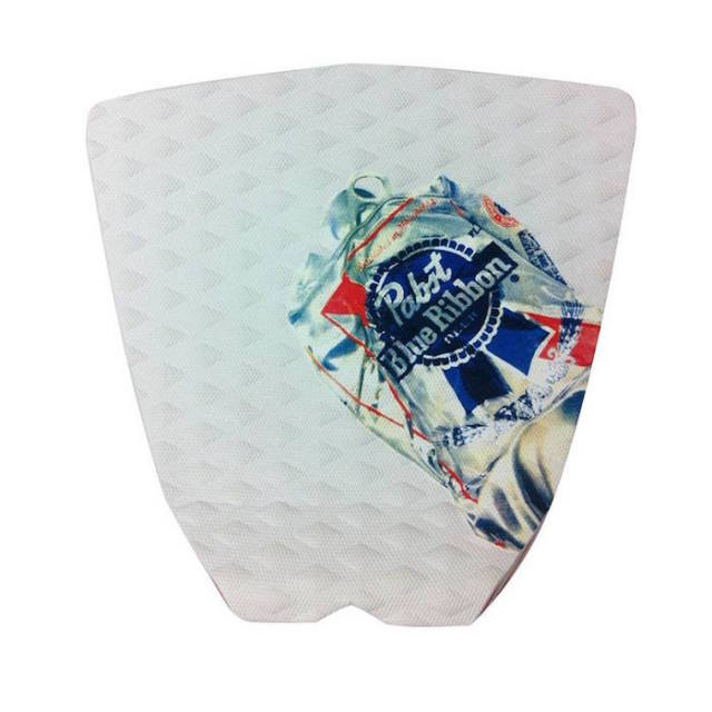 Let's Party  PABST BLUE RIBBON PAD CRUSHED CAN