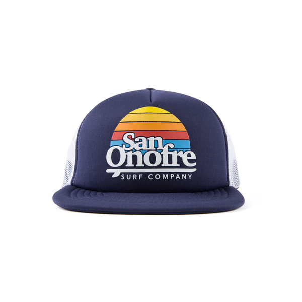 SAN ONOFRE SURF COMPANY / OLD SCHOOL TRUCKER HAT