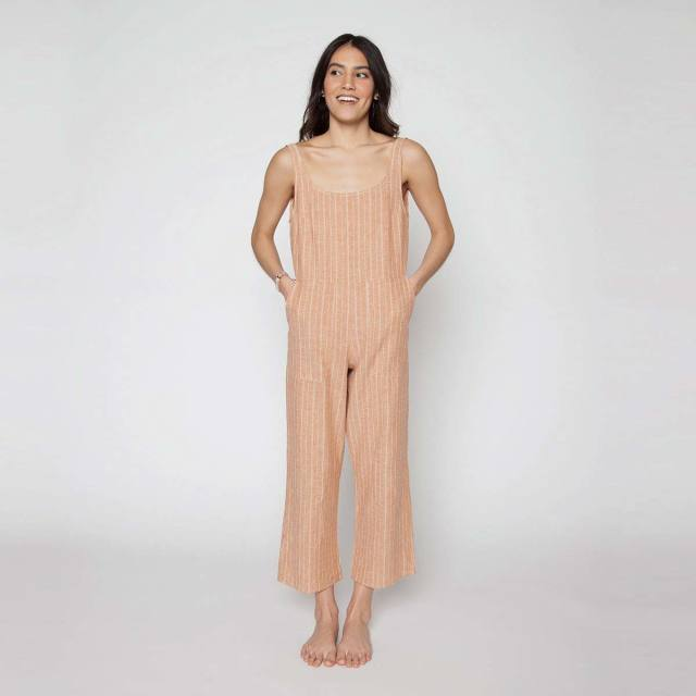 Seea Billie Jumpsuit Tumeric