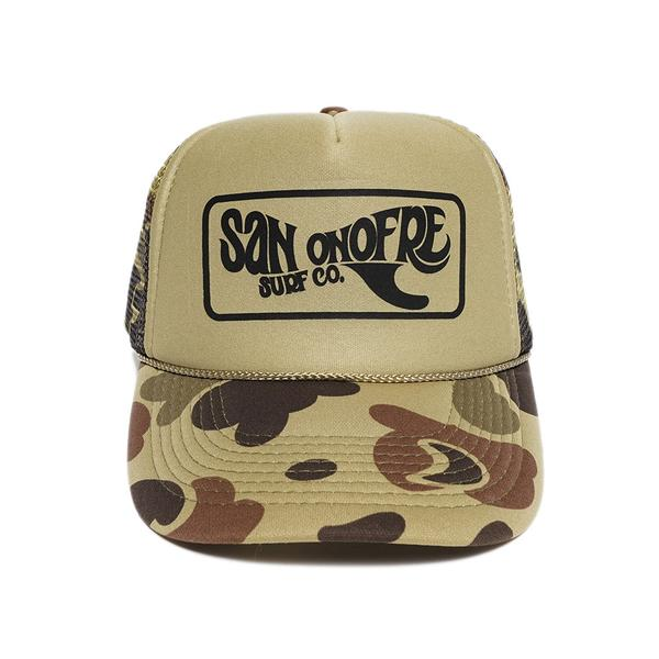 SAN ONOFRE SURF COMPANY / TRUCKER CAP(メッシュキャップ)
