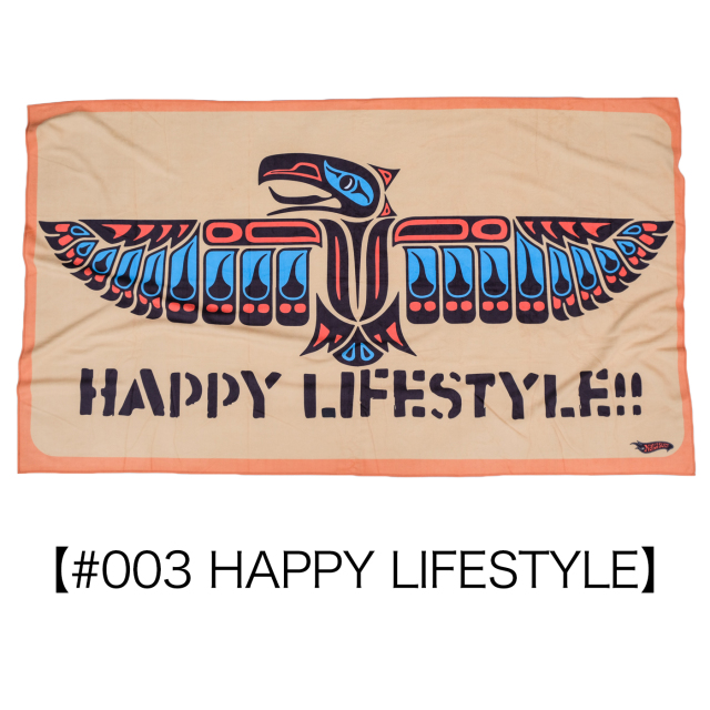 NAKISURF ORIGINAL TOWEL【#003 HAPPY LIFESTYLE】
