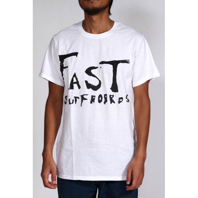 【FAST SURFBOARDS】 Tシャツ 「FAST SURFBOARDS」 White