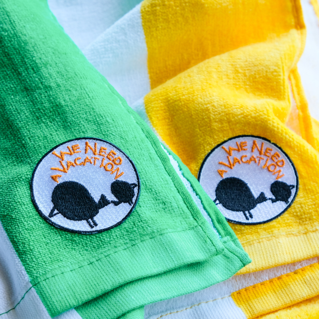 Birds'n'Birds【VACATION-TOWEL】