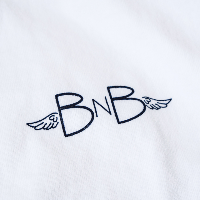 Birds'n'Birds【BNB-Wing-Tee】LOS ANGELES APPAREL-8.5oz