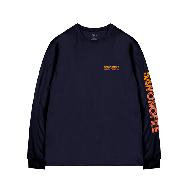 SAN ONOFRE SURF COMPANY / BLASTING SLEEVES L/S TEE