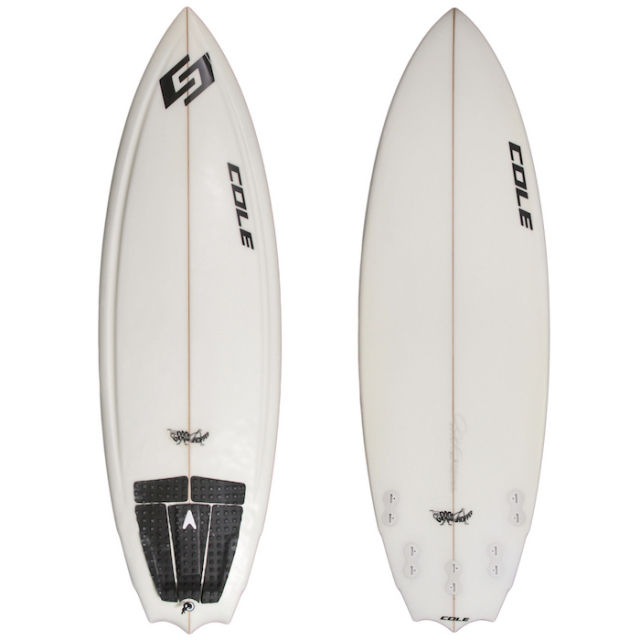 "【中古優良品】 COLE GRASS HOPPER 5'8"" x 20"" x 2-1/2""  【商品グレード】★★★☆☆"